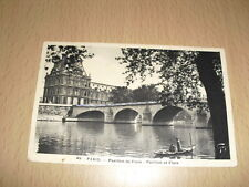 CPA Carte Postale Ancienne Paris Pavillon de Flore