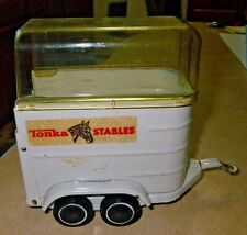 Vintage 1970's TONKA STABLES Horse Trailer 52620 Metal