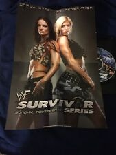 WWF SURVIVOR SERIES DVD TEAM WWF V.S. TEAM ALLIANCE W/ COLLECTIBLE POSTER