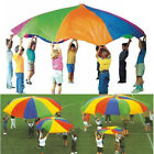 New 6 FT /2M Children Kids Play Rainbow Parachute Outdoor Game Exerclse Sport