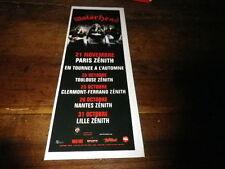 MOTORHEAD - Petite publicité de magazine / Advert !!! CONCERT 21 NOVEMBRE !!