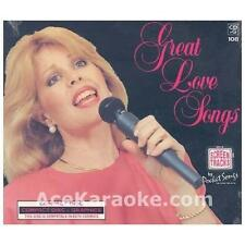 KARAOKE: GREAT LOVE SONGS NEW CD