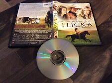 Flicka (DVD, 2007, Canadian; Dual Side) Used Free US Shipping