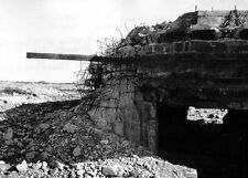 6x4 Gloss Photo ww8F5 Normandy D-Day Pdh Pointe Du Hoc Bunker