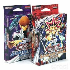 New Yu-Gi-Oh! Yugi & Kaiba Starter Deck Reloaded 50 Cards Game Mat Rare Official