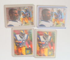 JEROME BETTIS LOS ANGELES RAMS STEELERS FOOTBALL FLAIR CARDS LOT