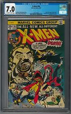 X-Men #94 CGC 7.0 Bronze Key 1st New Team Issue Wolverine Storm Uncanny All-New