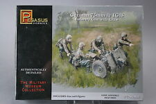 YH067 PEGASUS HOBBIES 1/72 maquette figurine 7510 German 75 mm IG18 Infantry Gun