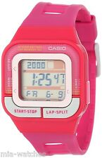 Casio SDB100-4A Pink Running 60-Lap Memory Watch 4 Alarms 10 Year Battery