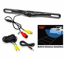 ® EC180-18 100% Waterproof HD Car Rear View Backup Camera 180° Viewing Angle