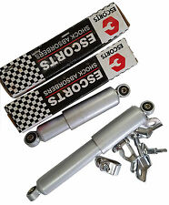 UKSCOOTERS pair of escorts dampers silver grey with fixing brackets GP LI TV SX