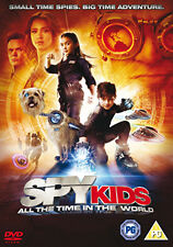 DVD:SPY KIDS 4 - ALL THE TIME IN THE WORLD 3D DVD - NEW Region 2 UK