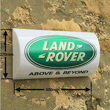 LANDROVER CAR 4 X 4  SUV SIGN LED LIGHT BOX man cave garage Discovery Defender