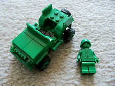 LEGO Toy Story Disney - Rare Original Army Jeep & Toy Soldier - Excellent