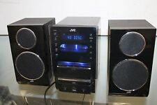 JVC Stereo BookShelf System iPod Dock AM/FM Tuner w/ Video Out CA-UXLP55