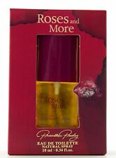 (prezzo base 229,00 €/100ml) Priscilla Presley Roses & more 10ml EDT spray OVP