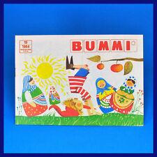 DDR Bummi 19/1984 ▶ 1. Oktoberheft  Kinderzeitschrift Geburtstag Oktober