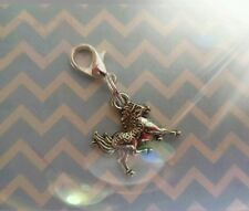 Lucky Chinese horse Charm for bracelets, purses, zip pull