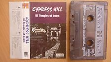 Cypress Hill ‎– III - Temples Of Boom UNIQ POLAND CASS 1995 ...FREE SHIPPING