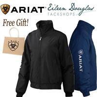 Ariat Ladies Team Stable Jacket Riding Coat Women's Waterproof Black or Navy