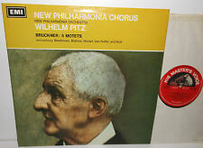 ASD 2325 Bruckner Five Motets New Philharmonia Chorus And Orchestra Wilhelm Pitz