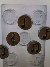 MUSICAL SYMBOLS OREO COOKIE mold candy chocolate soap molds oreos note g clef