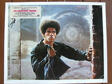 JIM KELLY PHOTO EXPLOITATION LOBBY CARD LA CEINTURE NOIRE 1974