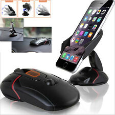 360° Universal In Auto Dashboard Cell  Phone GPS Mount Holder Stand Cradle Handy