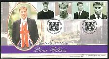 2003 - Prince William FDC - Windsor Pmk - Signed by Penny Junor