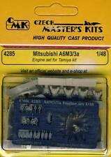 cmk Mitsubishi A6M3/3a Motor set Motor 1:48 modelo equipo de construcción Tamiya