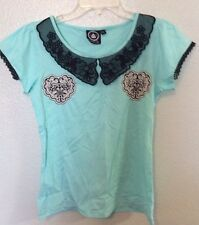 Too Fast Collar Top Hot Topic Punk Pin Up