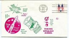 1974 Titan 3E Proof Flight Viking Dynamic Model Cape Canaveral NASA USA SAT