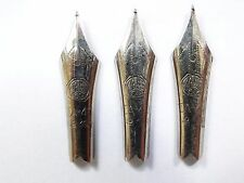 ANTIQUE VINTAGE KAWECO NIBS FOR PENS 3pcs VERY RARE NIBS ! ONLY NIBS !
