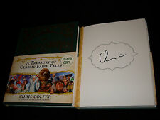 Glee Chris Colfer signed A Treasury of Classic Fairy Tales 1st printing HC book