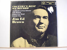 "45 Vinyl Records Jim Ed Brown EP ""The Country's Best On Record"""