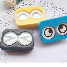 Cartoon Eyes Appearance Contact Lens Case Box Container Holder Unique Design