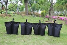 Canopy Sand Bag Anchor Kit - Set of 4 Tent Weights - 25lbs Capacity per bag