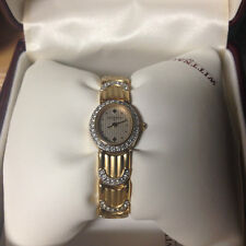 Wittnauer Women's Goldplated & Crystal Swiss Precision Quartz Dressy Watch 52406