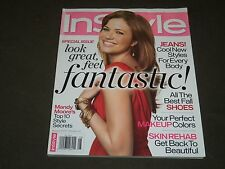 2007 AUGUST IN STYLE MAGAZINE - MANDY MOORE FRONT COVER - FASHION - J 2856
