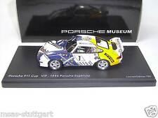 Porsche 911 Cup VIP 1996 Supercup Museum ltd.Edition 750 pcs. Schuco 1:43 neu