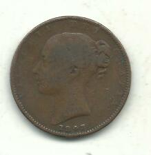 A BETTER GRADE 1943/2 GREAT BRITAIN FARTHING COIN-OLD ENGLISH PIECE-APR156