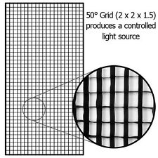 """New Fotodiox Pro Eggcrate Grid for 48x72"""" Softbox"""
