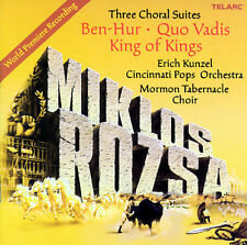 Three Choral Suites: Ben-Hur Quo Vadis King of, New Music