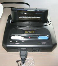 Retro compact md mega drive console-with lots & lots de jeux & uk plug