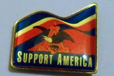 Anheiser Busch Hat Pin Ale Lapel Pin Clutch Back Beer 1 inch Eagle Support USA