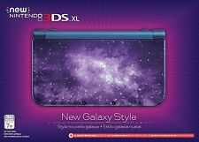 Nintendo New 3DS XL (Latest Model)- Galaxy Style Handheld System Console