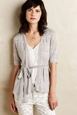 Knitted & Knotted (Anthropologie) Lace Stitch Cardigan - X-Small XS - NEW