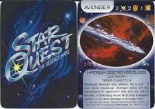 Buyer's Choice! You Pick 50 Star Quest CCG cards Complete Your Set
