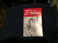 Fabulous Las Vegas Magazine Sammy Davis Jr Danny Kaye Ann Adams Model 11/8/1969