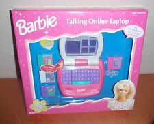 Barbie Talking Online Laptop 1998 New In Box
